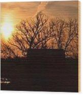 March Sunrise4 Wood Print by Jennifer  King