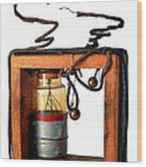Marconis First Transmitter 1897 Wood Print