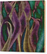 Mardi Gras Wood Print by Brenda Bryant