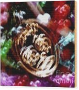 New Orleans Mardi Gras Madness In Louisiana Wood Print