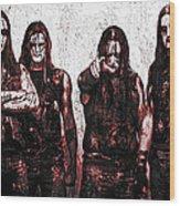 Marduk Wood Print