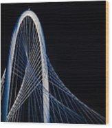 Margaret Hunt Hill Bridge Wood Print