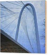 Margaret Hunt Hill Bridge Dawn Wood Print