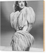 Margaret Lindsay, Ca. 1940 Wood Print