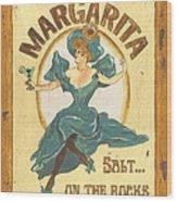Margarita Salt On The Rocks Wood Print