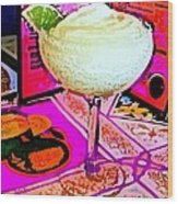 Margarita Time Wood Print