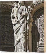 Maria Gratia Plena Wood Print