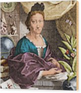 Maria Merian  Wood Print by Science Source
