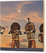 Mariachi Band Wood Print by Christine Till