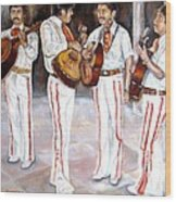 Mariachi  Musicians Wood Print