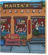 Maria's New Mexican Restaurant Wood Print