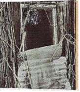 Maria's Window Wood Print