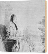 Marie De Vichy-chamrond (1679-1780) Wood Print