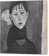 Marie Young Woman Of The People Wood Print