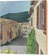 Marignac-en-diois Wood Print