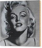 Marilyn 4 Wood Print