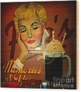 Marilyn And Fitz's Wood Print