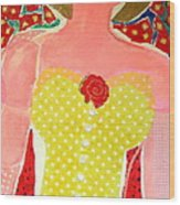 Marilyn Wood Print by Diane Fine