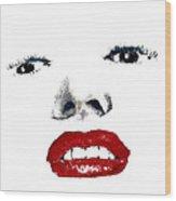 Marilyn II Wood Print by David Patterson