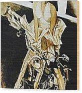 Marilyn In A Man's World Wood Print