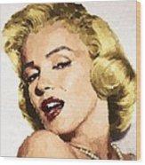Marilyn Monroe 08 Wood Print
