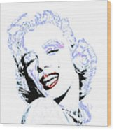 Marilyn Monroe 20130331 Square Wood Print