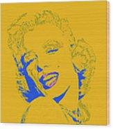 Marilyn Monroe 20130331v2 Square Wood Print