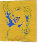 Marilyn Monroe 20130331v2 Wood Print