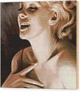 Marilyn Monroe Artwork 1 Wood Print