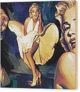 Marilyn Monroe Artwork 3 Wood Print