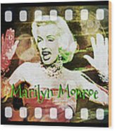 Marilyn Monroe Film Wood Print