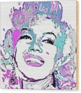 Marilyn Monroe I Want To Be Loved By You Wood Print