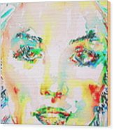 Marilyn Monroe Portrait.5 Wood Print