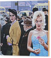 Marilyn Monroe - River Of No Return Wood Print