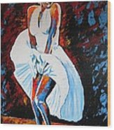 Marilyn Monroe The Seven Year Itch Wood Print