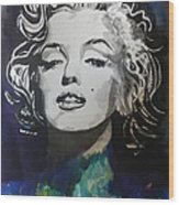 Marilyn Monroe..2 Wood Print by Chrisann Ellis