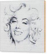 Marilyn 1 Wood Print