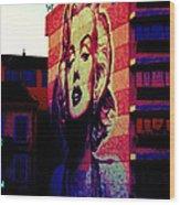 Marilyn Remembered Wood Print