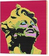 Marilyn Three Wood Print
