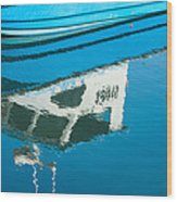 Marina Blues Wood Print