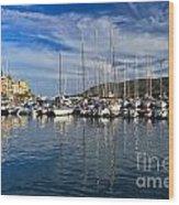 marina in Porto Azzurro Wood Print