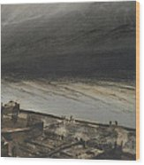 Marine Terrace In Jersey Wood Print