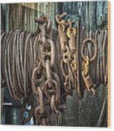 Marine.6927 Wood Print