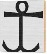 Mariner's Cross Wood Print