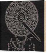 Mariner's New Kalendar Circa 1688 Wood Print