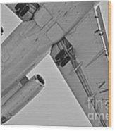 Marines In Flight Wood Print