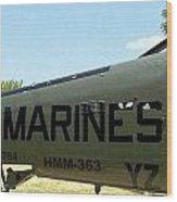Marines Wood Print