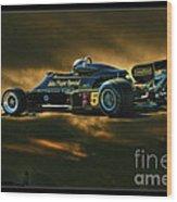 Mario Andretti John Player Special Lotus 79  Wood Print