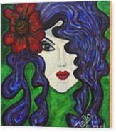 Mariposa Fairy Queen Wood Print