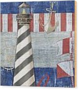 Maritime Lighthouse II Wood Print